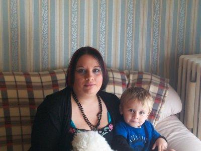 ma fille tiffany et son fils