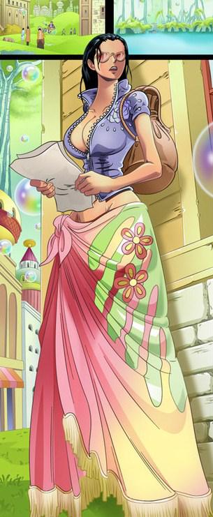 Nico Robin la 2ème plus belle belle =p