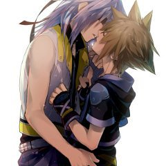 Sora x Riku  (kindgom heart)