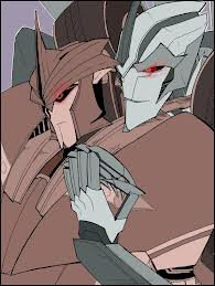 Knockout x Starscream (transformers prime)