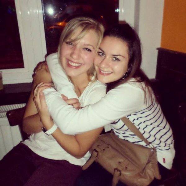 Comme blondes, comme brunes, comme belles, mais oui, quelles belles rencontres! ♥