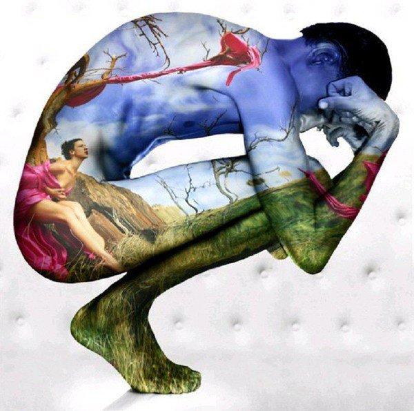 *Être l'oeuvre d'art en lui-même et pas la représentation de l'oeuvre...
