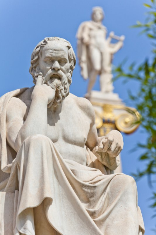 "Socrate "" The father of philosophy """
