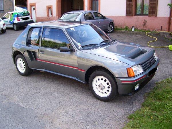 205 turbo 16 serie 200