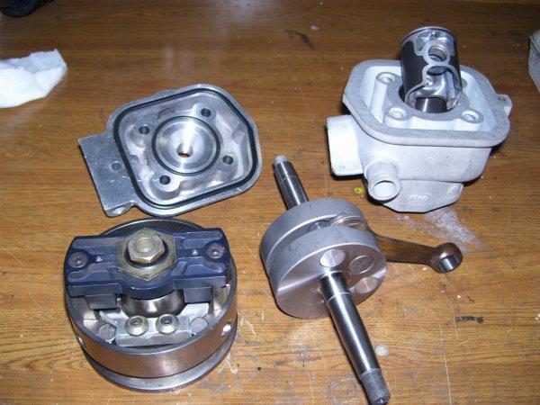 moteur bidalot rr pour la magnum