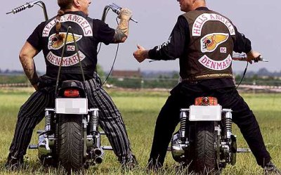 les milieu motards (bikers) hell's angels...