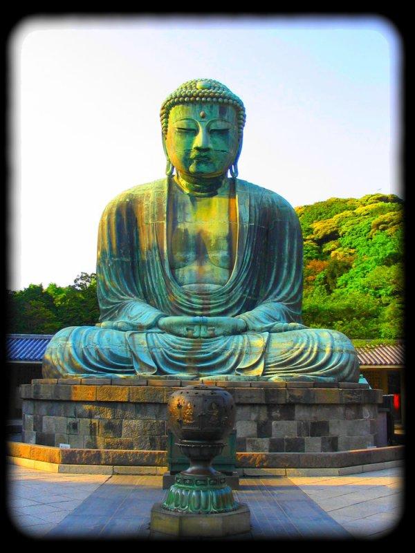 Daibutsu - Grand Bouddha de Kamakura.