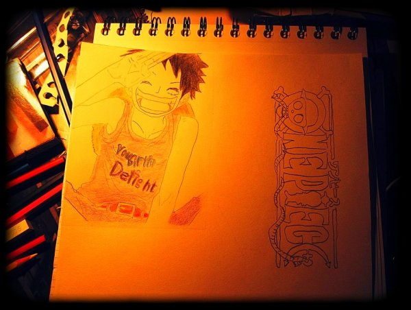 Un de mes dessins - One Piece