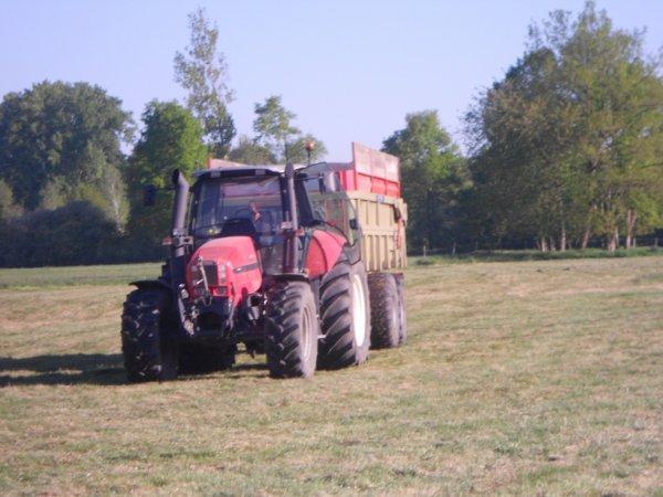 le same iron 170 en pneus large et la benne leboulch 18 t