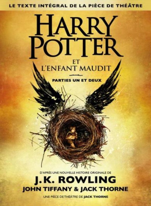 harry potter , l'enfant maudit