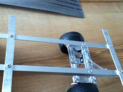 chassis du plateau a paille