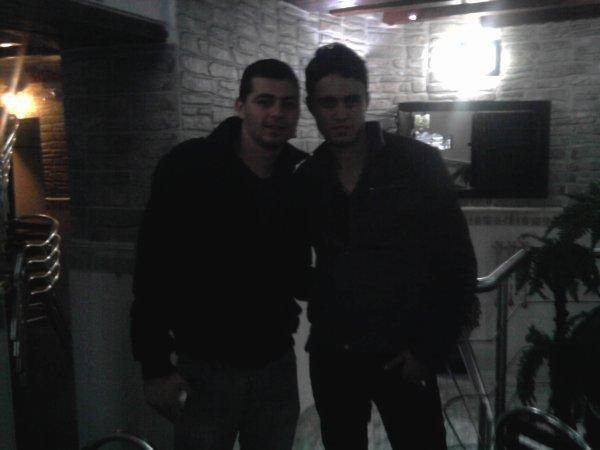 moi et mon bèst amis Nabil