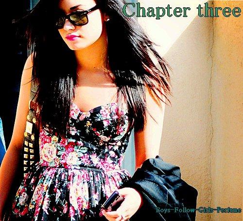 Chapter three : Même s'il était vraiment énervant parfois, ainsi que sarcastique, je l'aimais plus que tout au monde