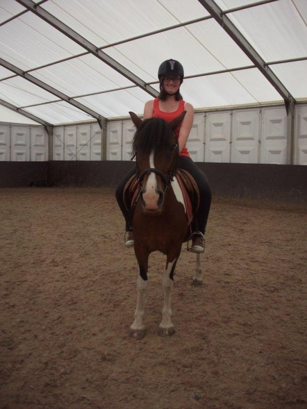 Je suis remontée à cheval!
