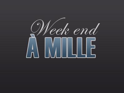 | Challenge #1 | Week-end à 1000 #1 |