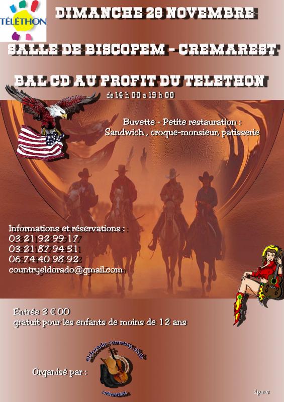 Bal CD au profit du Téléthon