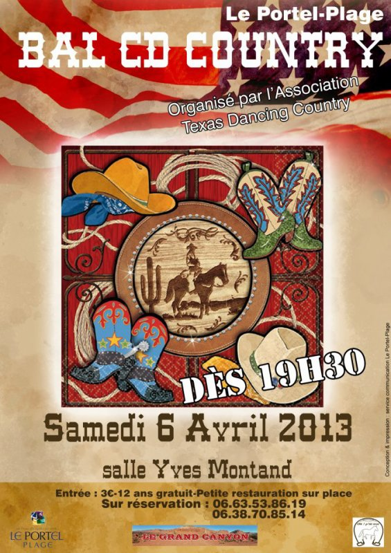 Bal CD des Texas Dancing Country de Le Portel (62)