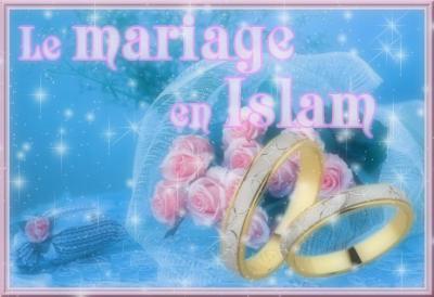 le mariage en islam l 39 islam la plus belle religion. Black Bedroom Furniture Sets. Home Design Ideas