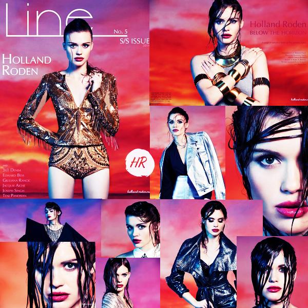 Magazines Scans - Line Magazine (2014).