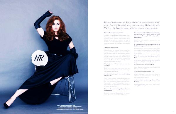 Magazines scans - VVV Magazine (2015).