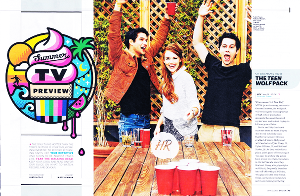 Magazines scans - Entertainment Weekly (2015).