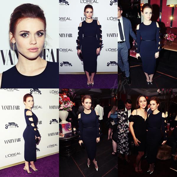 Event - La belle était présente aux Vanity Fair and L'Oreal Paris Toast to Young Hollywood à Los Angeles le 21 février.