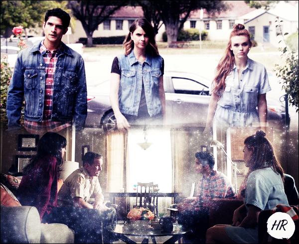 Teen Wolf - Still du 6x03 + La belle sur le tournage + Promo du 6x04.