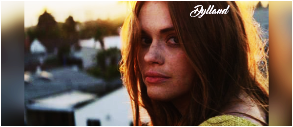Holland Roden - Video Music Production.