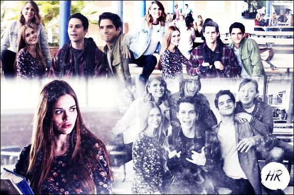Teen Wolf - Nouveaux stills de la saison 6A + La belle sur le tournage le 17 novembre.
