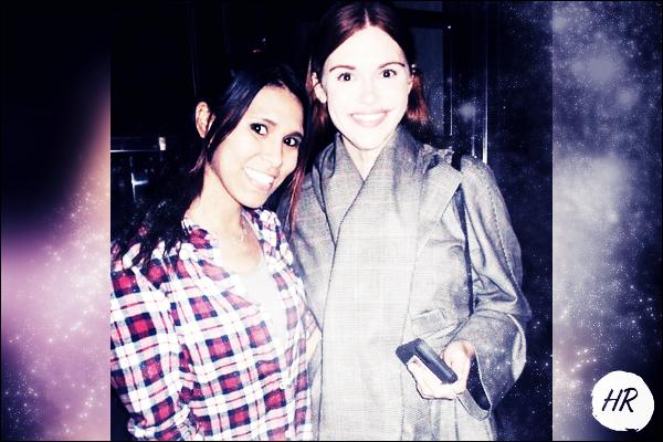 Miscellanous - Photoshoot - Avec une fan à New York le 16 novembre.