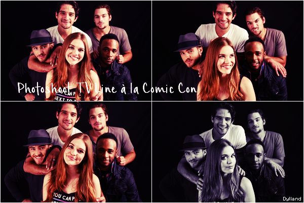 Holland Roden - Photoshoots - Comic Con de San Diego.