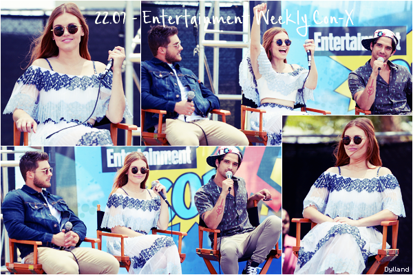 Holland Roden - Events - Comic Con de San Diego.