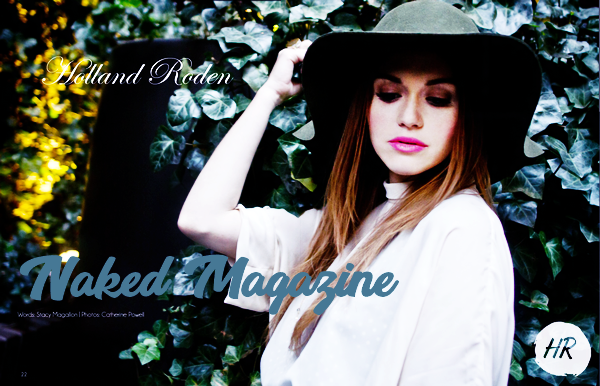 Magazines scans - Naked Magazine.