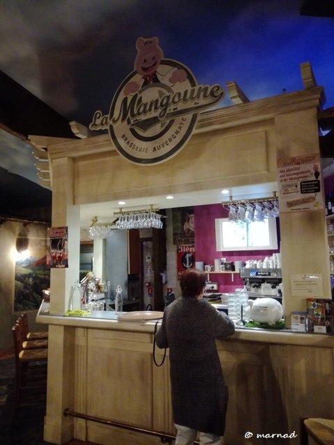 Restaurant La Mangoune à Saint Flour en France