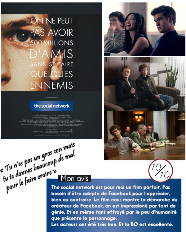 Critique de : The Social Network (2010)