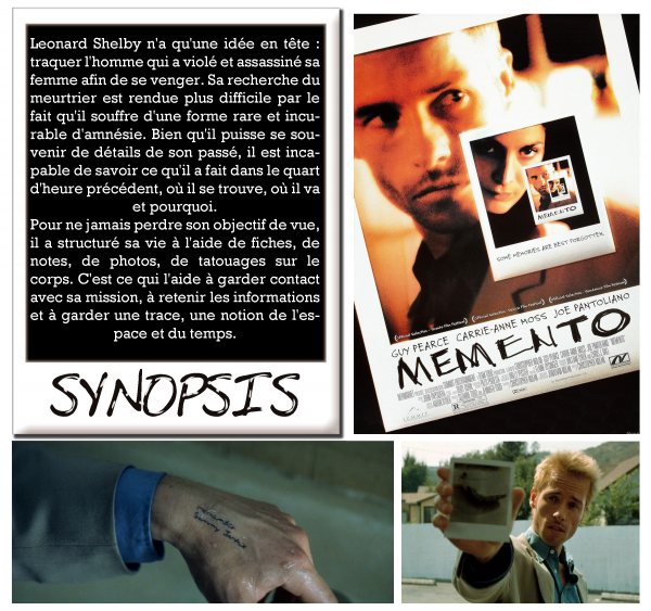 Critique de : Memento (2000)