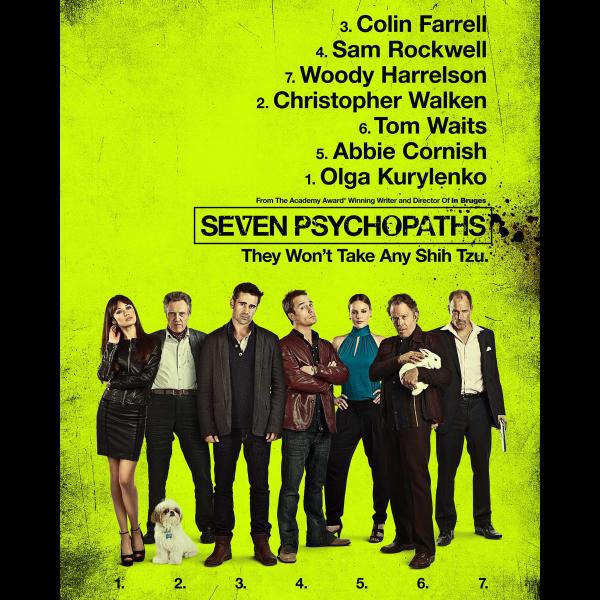 7 Psycopathes (2012)