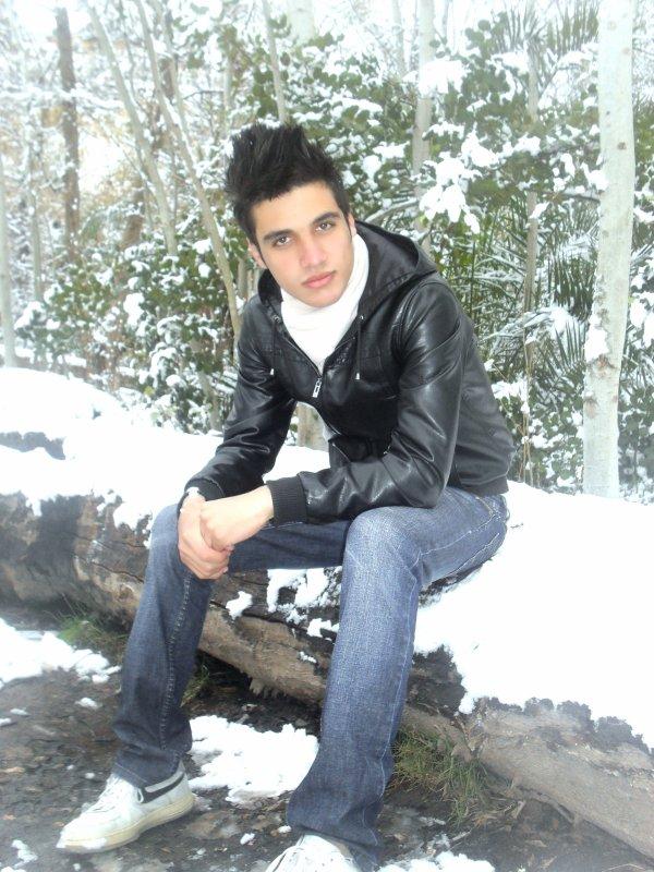 surr la neige :D !