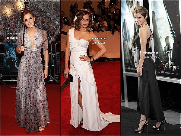 . Découvrez l'évolution de Emma, de l'année 2000 à 2011 ! Quel année préferé-vous ? .