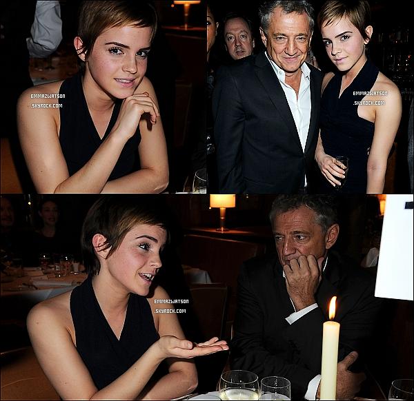 . 11/02/11X-Emma été présente à la soirée « Pre-BAFTA Film Cocktail Party » qui été organisé au Almada Bar. .