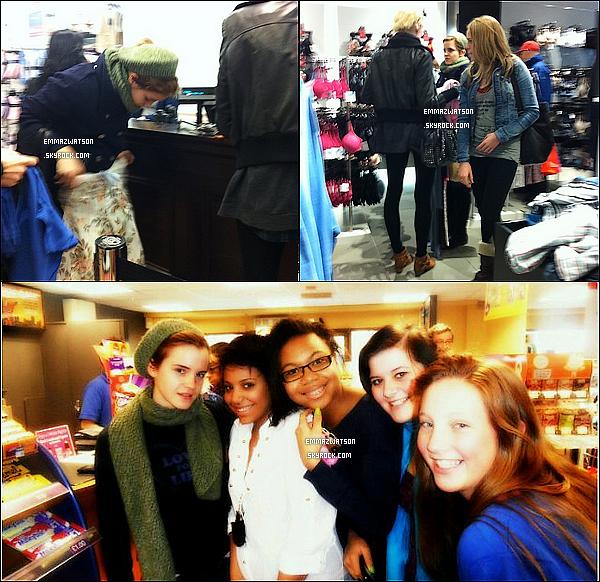 . 06/02/11X-Emma à étais vue dans un magazin à Oxford en Angleterre. (seule trois photos de fan disponible). .