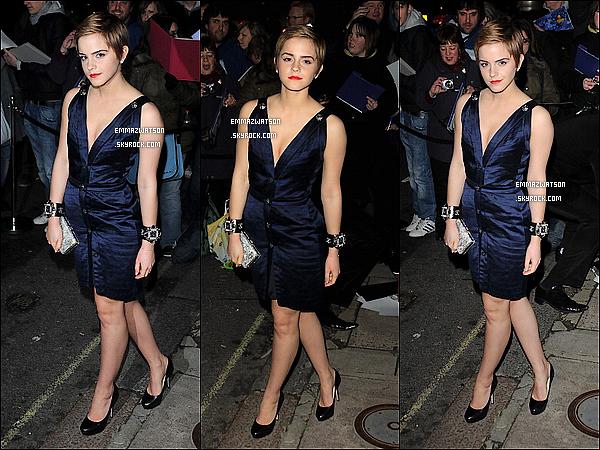 . 11/02/11X-Emma à assistée à la soirée des « Finch & Partners Pre-BAFTA Party » qui se déroulait à Londres. .