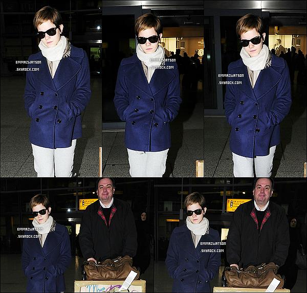 . 19/02/11X-Emma à était vue aujourd'hui meme, (avec son pére ?), quittant l'aéroport Heathrow à Londres. .