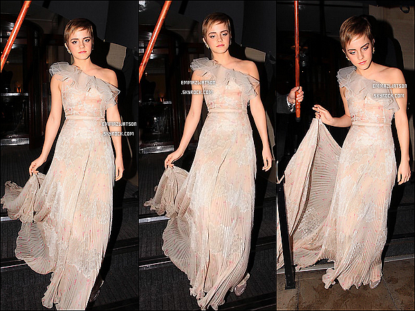 . 13/02/11X-Emma s'est rendu comme prévu aux « BAFTA Awards » en compagnies d'acteurs de la Saga HP. .