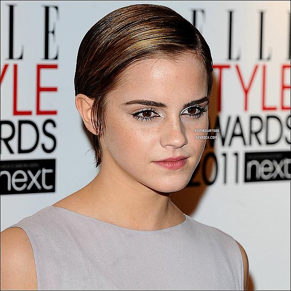 . 14/02/11X-Emma s'est rendu à la céremonie des « Elle Style Awards », elle à étais nommée « Style Icon ». .