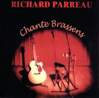 1er CD 1998 Richard Parreau chante Brassens