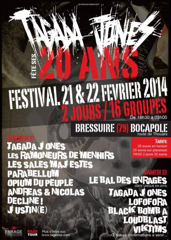 Festival 20 ans Tagada Jones