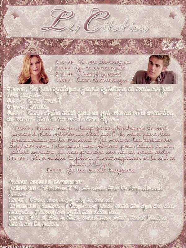 ● The-Vampire-Diariesx3.skyrock.com 2x06 Plan B Création │ Décoration │Inspi Citations│Gifs│Newsletter