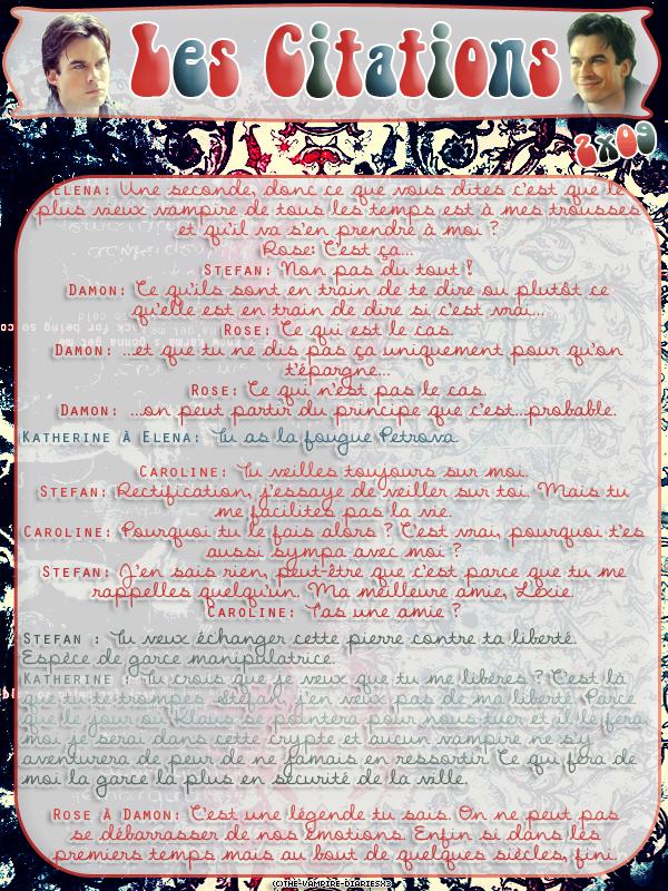 ● The-Vampire-Diariesx3.skyrock.com 2x09 Instinct De Survie Création │ Décoration │Inspi Citations│Gifs│Newsletter