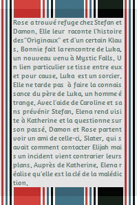 ● The-Vampire-Diariesx3.skyrock.com 2x09 Instinct De Survie Création │ Décoration │Inspi Citations│Gifs │Newsletter
